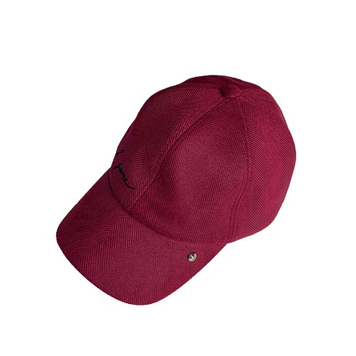 스터드 볼캡 Stud Ball Cap (Wine)