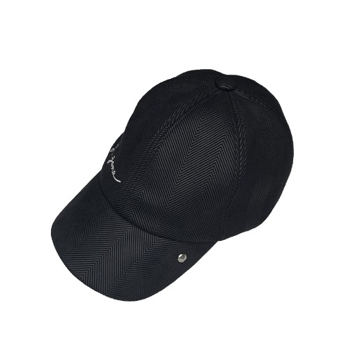 스터드 볼캡 Stud Ball Cap (Black)
