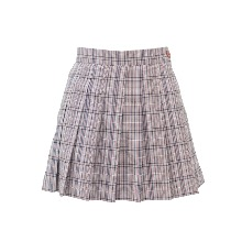 20's 걸리쉬 체크 스커트 20's girlish check skirt (light pink)
