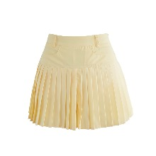 플리츠 숏 팬츠 Pleats short pants (yellow)