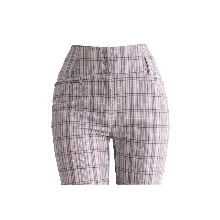 20's 걸리쉬 체크 팬츠 20's girlish check pants (light pink)